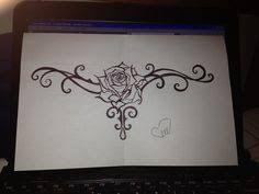 Image result for Rose Tramp Stamp by Psyzapp on deviantART