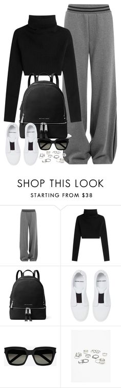 """Untitled #2090"" by camillegr ❤ liked on Polyvore featuring Valentino, MICHAEL Michael Kors, Pierre Hardy, Yves Saint Laurent and Free People"