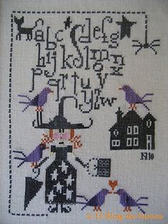 Blog Nieves. Work and Cross Stitch