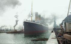 The Titanic in Southhampton