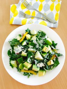 Refreshing summer greens recipe