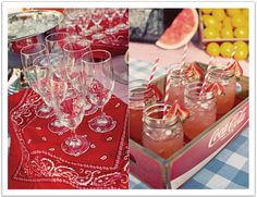 Country Style BBQ Rehearsal Dinner by Alchemy Fine Events
