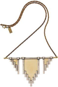 Pamela Love Empire antiqued silver necklace NET-A-PORTER.COM