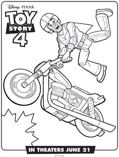 Coloring page of Forky from Toy Story 4 #toystory4, #forky ...