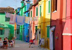 #ridecolorfully Burano, Venice