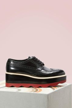 b4e535ee12e93f Prada Red sole derbies Prada Shoes