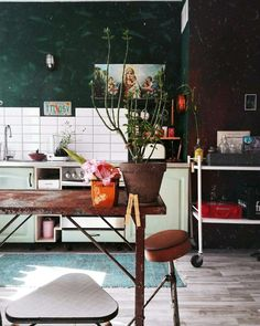 My home, love industrial decor