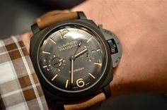 Not wild about the matte black / cream dial combo, but do like the aged strap.
