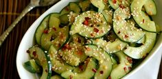 Miso Cucumber Salad