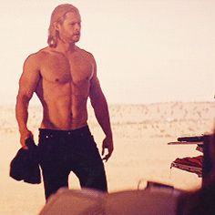 Pin for Later: 22 Sexy Thor Moments Might Make Chris Hemsworth the Hottest Avenger When His Abs Make Your Eyes Pop Out Like a Cartoon Character