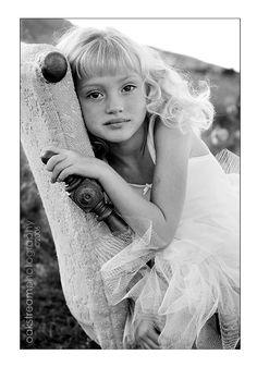 Gorgeous black and white portrait...