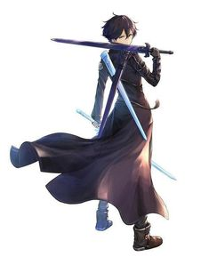 Sao Anime, Anime Manga, Schwertkunst Online, Eugeo Sword Art Online, Espada Anime, Sword Poses, Good Anime Series, Sword Art Online Wallpaper, Naruto Vs Sasuke