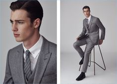 Reiss Fall/Winter 2016 Men's Suits: The Switch Up
