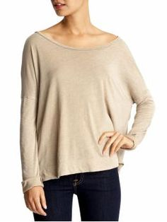 So cozy.  Bobbi Tee by Threads for Thought $49.00