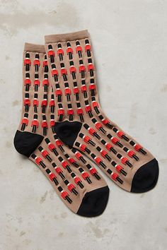 Buckingham Crew Socks