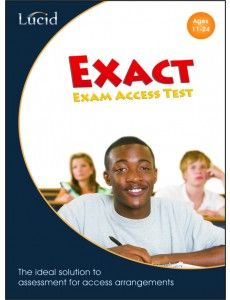 Lucid Exact - Computerised Assessment of Literacy