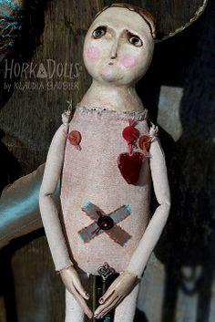 art doll EDEN HorkaDolls