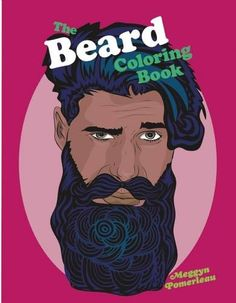 Beard Coloring Book (Paperback) | Adult Coloring Books for Art ...