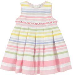 baby stripe dress | Mayoral Baby Girls Pastel Striped Dress