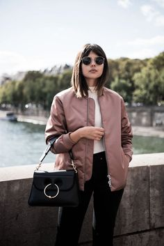 6 Ways To Style A Bomber Jacket For Winter