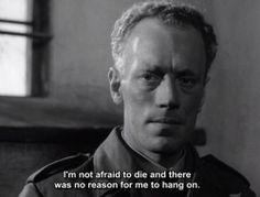 Winter Light (Nattvardsgästerna), 1962, Ingmar Bergman Famous Movie Quotes, Film Quotes, Not Dark Yet, Ain't No Sunshine, Grunge Quotes, Film World, Ingmar Bergman, Light Quotes, Winter Light