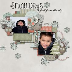 Snow Days - Scrapbook.com
