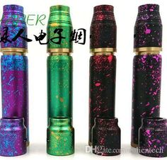 AV Able aluninum anodized colors cotton candy mechanical mod kits battle deck…