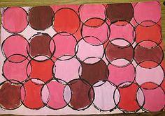 Circle prints tints and shades