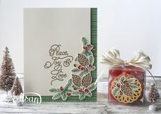 Peace this Christmas Stamp Set and This Christmas DSP #stampin up