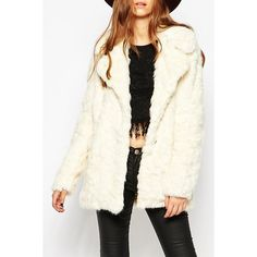 Casual Turn-Down Collar Faux Fur Coat For Women Only $23.50 Drop Shipping | TrendsGal.com