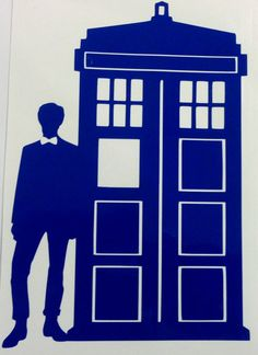 Doctor Who Inspired- Eleventh Doctor and Tardis Decal