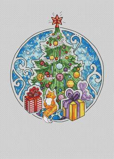 Ёлка, схема для вышивки, арт. АО-080 Алиса Окнеас | Купить онлайн на Mybobbin.ru