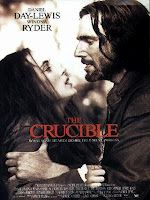 The Crucible is a solid screen adaptation of Arthur Miller's 1953 play about the virulent Salem Witch trials (a take on the communist witch hunts in the 1940s-50s US), directed by Nicholas Hytner (The Madness of King George) and adapted by Miller himself for which he earned his only Oscar Nomination.