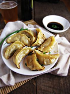 Pork and Apple Potstickers