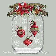 Christmas Ornament Snow Globecross stitch patternby Shannon Christine Designs Christmas Ornament Snow Globecross stitch patternby Shannon Christine Designs,Kreuzstich Lt b gt Christmas Ornament Snow Globe lt b gt lt br gt cross stitch pattern. Cross Stitch Christmas Ornaments, Xmas Cross Stitch, Christmas Embroidery, Counted Cross Stitch Patterns, Cross Stitch Charts, Cross Stitch Designs, Cross Stitching, Cross Stitch Embroidery, Hand Embroidery