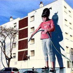 Street Art of Jose Fernandez Rios Street Wall Art, Street Art News, Murals Street Art, Street Art Graffiti, Graffiti Artwork, Graffiti Drawing, Graffiti Artists, Graffiti Lettering, Graffiti Wall