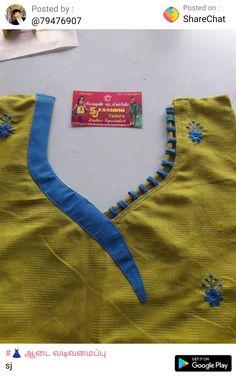 Churidhar Neck Designs, Salwar Neck Designs, Saree Blouse Neck Designs, Kurta Neck Design, Dress Neck Designs, Sleeve Designs, Patch Work Blouse Designs, Kids Lehenga, Kurti Patterns