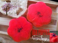 Red Poppies soap... By Eva Santoyo
