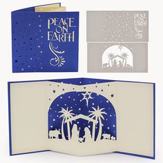 The Non-Crafty Crafter: CRICUT: Resizing the Nativity pop up card from DigiPlayground