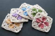 Cathedral Motif ~ free pattern