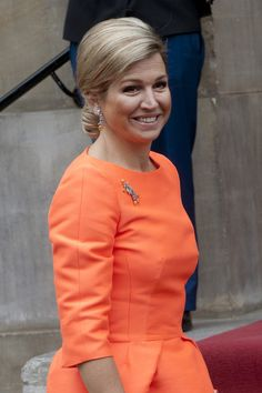 Queen Maxima ~ at the Annual Apples of Orange 2013