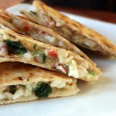 Seafood Quesadillas
