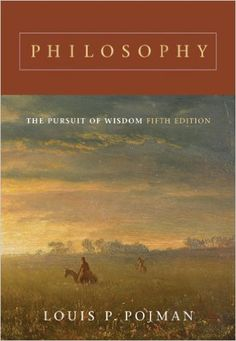 "'Philosophy: The Pursuit of Wisdom' by Louis P. Pojman ""In a sense, philosophy is just hard thinking about the important issues of life."" ~ This sounds like a good remembrance of what I think I learned in college. Good Books, Books To Read, My Books, Reading Time, Reading Lists, Philosophy Books, Favorite Book Quotes, Book Annotation, Psychology Books"