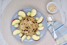 Bowl cake banane-coco (sans lactose) Bowl Cake, Sans Lactose, Fruit Recipes, Menu, Breakfast, Food, Banana, Baking Soda, Menu Board Design