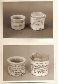 Dr. Roberts' 'Poor Man's Friend' pots.