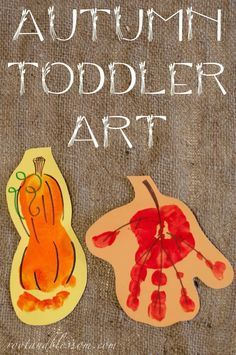 Rootandblossom: Autumn (Toddler Created) Banner