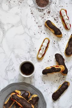 chocolate eclairs wi