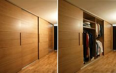 Our simplest fitted wardrobe design for sliding doors Fitted Sliding Wardrobes, Sliding Wardrobe Doors, Sliding Doors, Bedroom Wardrobe, Wardrobe Closet, Built In Wardrobe, Funky Bedroom, Baby Room Storage, Sliding Door Window Treatments