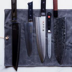5 Knives Chefs Can't Live Without on Food Wine -- 4 out of 5 are Japanese. I better stock up while I am here.