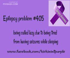 EPILEPSY Awareness! #CURE 4#EPILEPSY!